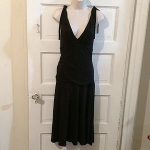 Velvet Brand Black Sleeveless Fit&Flare Dress M